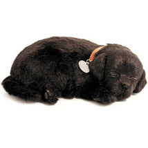 Perfect Petzzz BLACK LAB does Lifelike Breathing Battery Included-NEW! - $32.75