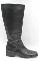 White Mountain Atlas Women Leather Riding Boots Size US 8.5M Black - £21.08 GBP