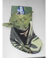 Star Wars Yoda Christmas Stocking New With Tag - $14.99