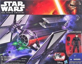 STAR WARS the FORCE AWAKENS TIE FIGHTER SHIP W First Order PILOT, NEW in... - $28.84