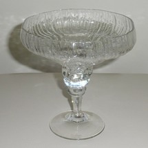 ROSENTHAL STUDIO LINE CRYSTAL COMPOTE STRUCTURE PATTERN - $25.00