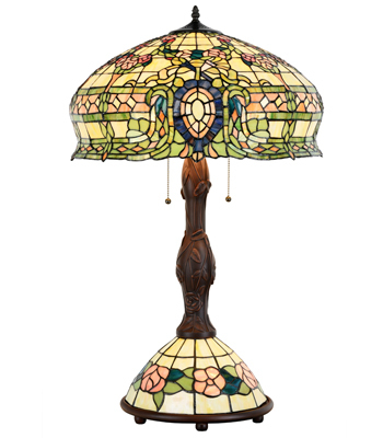 Tiffany Style Conservatory Table Lamp 15096