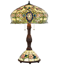 Tiffany Style Conservatory Table Lamp 15096  - $700.00