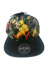 Aquaman Baseball Hat DC Comics Snapback Cap Colorful All Over Graphics A... - $13.85