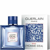 Guerlain L'homme Ideal Sport Cologne For Men Cologne New in Box 3.3oz - $85.00