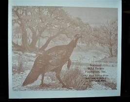1983 National Wild Turkey Fed, Print & Stamp >by L.LeBlanc >  LIt, Edition  - $108.90