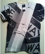 DKNY VINTAGE Donna Karan original T-shirt New York One Way city street s... - $199.99