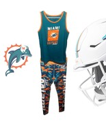 Miami Dolphins Football Love Camouflage Fatigue Sports Gear Workout Outf... - $44.00