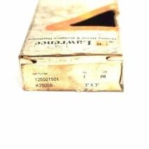 BOX OF 2 NIB LAWRENCE 125001501 DOOR HINGES 3'' X 3'' R2500S image 2