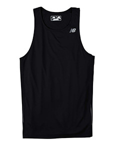 Primary image for Black 3XL N9138 New Balance Men Tempo Running Singlet Muscle Tank top