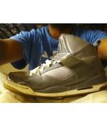 NIKE Air Jordan Flight 97 Dark Grey-Cool Grey-White SIZE 11.5 Basketball... - $28.90