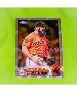 MLB BRIAN WILSON SAN FRANCISCO GIANTS 2017 TOPPS CHROME X FRACTOR MINT - £1.35 GBP