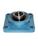 2 Pcs  UCF 207-23 Self-align 4 Bolt Flange Pillow Block Bearing 1 7/16 inch - $24.99