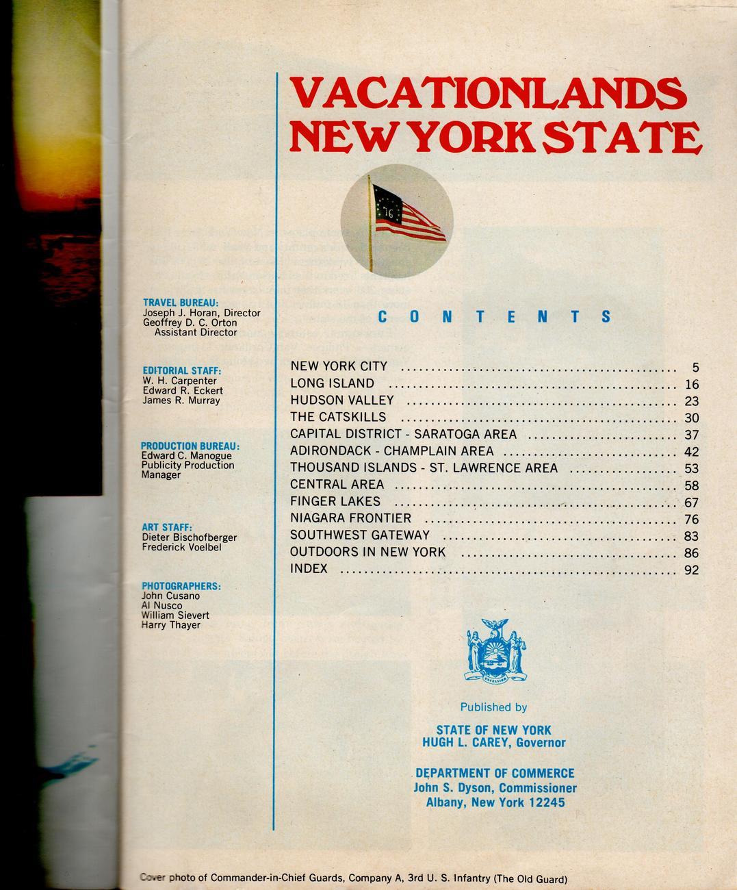 Vactionlands New York State Bicentennial Edition [Paperback]