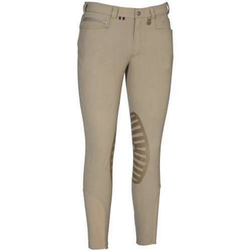 Tuffrider Mens Sawyer Knee Patch Breech Size 40 in Safari - NEW!