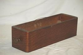 Vintage Antique Ornate Wooden Oak Singer Treadle Sewing Machine Cabinet Drawer c - $52.80 CAD