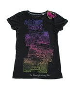 NWT ABBEY DAWN AVRIL LAVIGNE Black Boombox Radio Tee XL - $13.99
