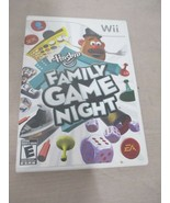 Hasbro Family Game Night (Nintendo Wii, 2008) Tested and Works - $14.56
