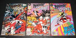 3 1989-90 DC Comics HAWK & DOVE 3, 11, 13 FINE Comic Books Kesel Guler H... - $11.99