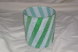 Home Interiors Peppermint Twist Candleholder Homco - $4.99
