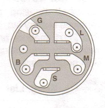 Ignition starter switch for Husqvarna 532 10 29-72, 532102972, 532 14 54-99