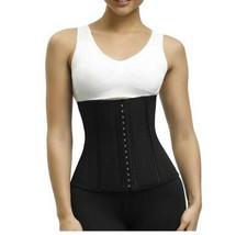 Plus Size Women's Tummy Latex Steel Boned Slim Down Waist Trainer Hooks ... - $25.98