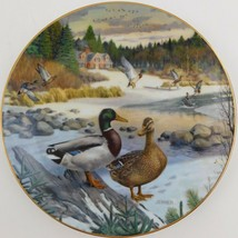 Knowles Bart Jerner Mallard Living With Nature Duck Plate #1 Bradford Exchange - $29.70