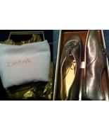 JOAN & DAVID Zena JAZZ OXFORD Dazena Pewter leather lace-up shoes 6 NEW ... - $199.99