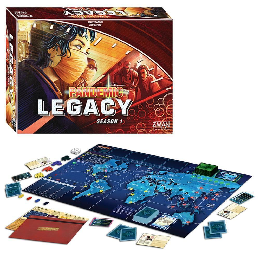 Pandemic Legacy Board Game, Red Season 1 [New]