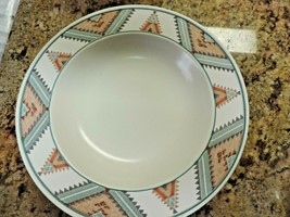 Mikasa Intaglio Santa Fe Soup Bowl Southwestern Dinnerware CAC24  - $4.95