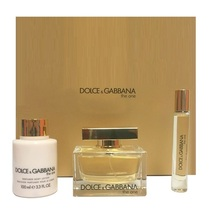 Dolce & Gabbana The One 2.5 Oz EDP Spray + 3.3 Oz Lotion + 0.25 Oz EDP Roll On image 4