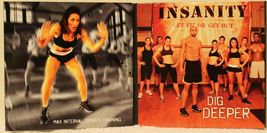 Insanity Max Interval Sports Training Insane Abs Upper Body weight train 3 DVDs image 3