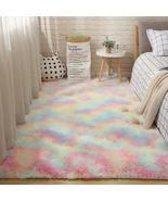 Furry Carpets for Living Room Home Decoration Rugs Shagg Plush Fluffy Al... - $3.99+