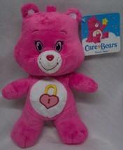 "Care Bears SOFT PINK SECRET BEAR 8"" Plush STUFFED ANIMAL Toy NEW - $18.32"
