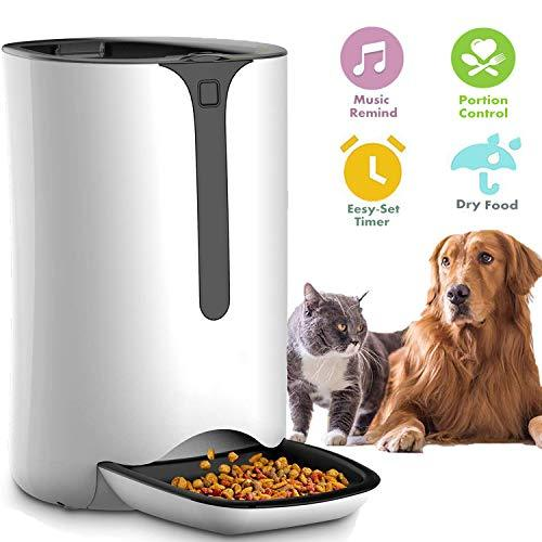 Primary image for Automatic Pet Feeder for Dog and Cat Food Dispenser with Timed Programmable, Por