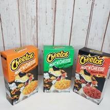 (3) Cheetos Mac 'n Cheese Flamin Hot, Cheesy Jalapeño And Bold And Chees... - $14.85