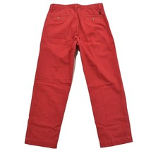 NEW Polo Ralph Lauren Chino SLIM FIT Jeans Pants 34 30 34W 30L NANTUCKET RED NWT - $51.38