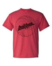 Dokken Breaking Chains T-shirt heavy metal 80's retro rock cotton blend red tee image 2