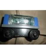 Thomas the Train Sodor Aquarium Car Shark & Squid Car wood magnetic - $4.94