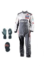 Go Kart Sauber Race Suit CIK/FIA Level 2 Approved 2013 With Free Gift - $180.99