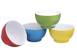 Everyday Ceramic Bowls - Cereal, Soup, Ice Cream, Salad, Pasta, Fruit, 2... - $25.97