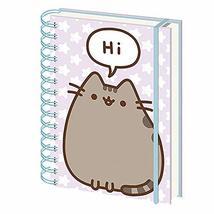 Genuine Pusheen Says Hi A5 Wiro Hardback Journal Notebook Paper Note Pad - $9.89