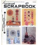 Macrame Scrapbook by Pam Gochanour Pat Depke Pattern Booklet 36 Pages - $4.92