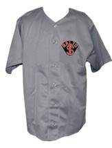 Baltimore Black Sox Retro Baseball Jersey 1926 Button Down Grey Any Size image 1