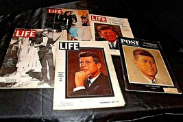 Life and Post Magazines (Five)  John F. Kennedy and Lee Oswold AA20-2253 Vintage