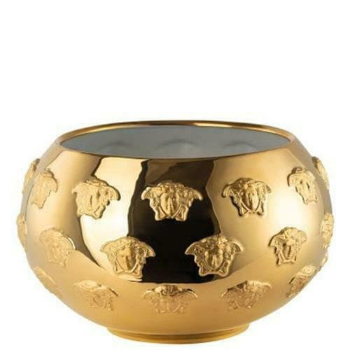 "Primary image for Versace by Rosenthal Kaleidoscope All over gold Dish 29 cm/11.4"" inches"