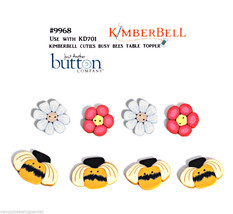 Kimberbell Cuties Busy Bees Table Topper Buttons - $24.53