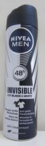 Nivea Men Invisible Deodorant anti-perspirant spray150ml Free Shipping - $9.41