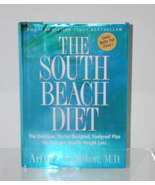The South Beach Diet, by Arthur Agatston, M.D. (pre-owned) Hardcover - $1.99