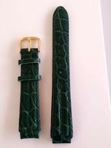Bracelet Seiko Green leather strap SWP030 - $29.70